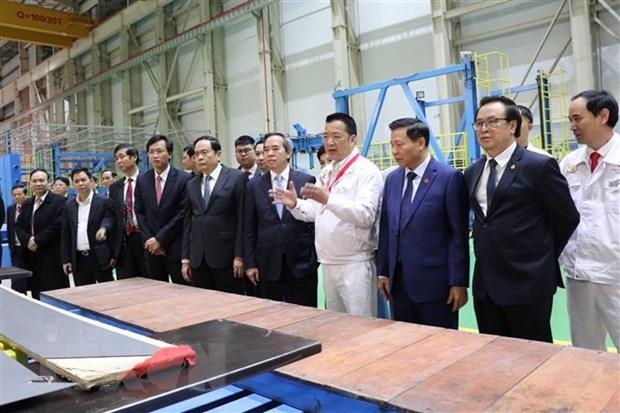 北宁省220-500kV电力变压器生产厂落成