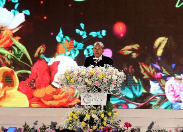 """以""""大叻与花""""为主题的第8次大叻花卉节开幕"""