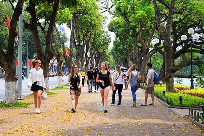 2019年河内市旅游量质共提    游客突破700万人次大关