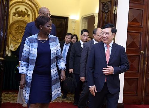 范平明副总理:法语国家及地区国际组织是越南的重要合作伙伴