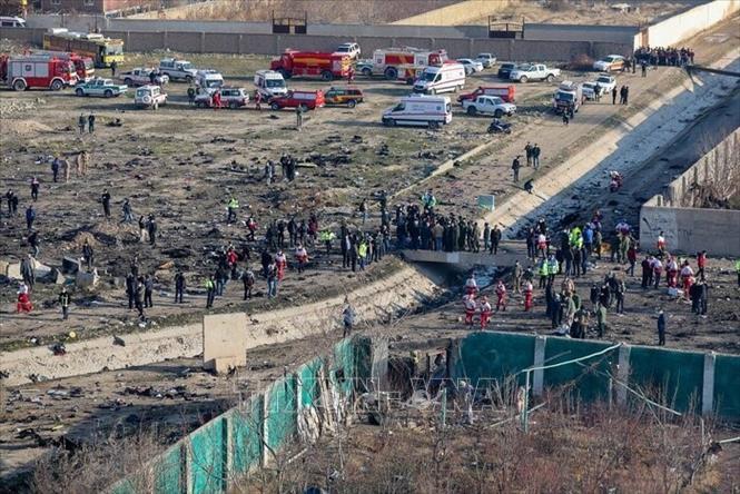 乌克兰飞机在伊朗坠毁:乌克兰宣布悼念一天