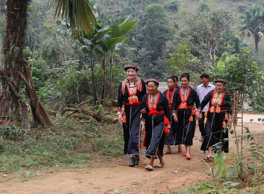 安沛省红瑶族同胞的过年习俗