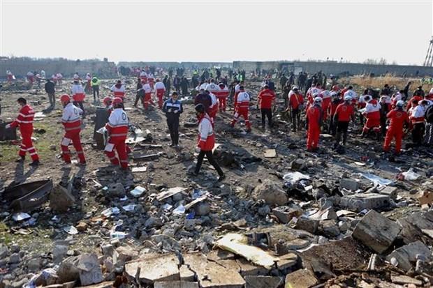越南就乌克兰国际航空客机在伊朗坠毁事件向有关国家致以深切慰问