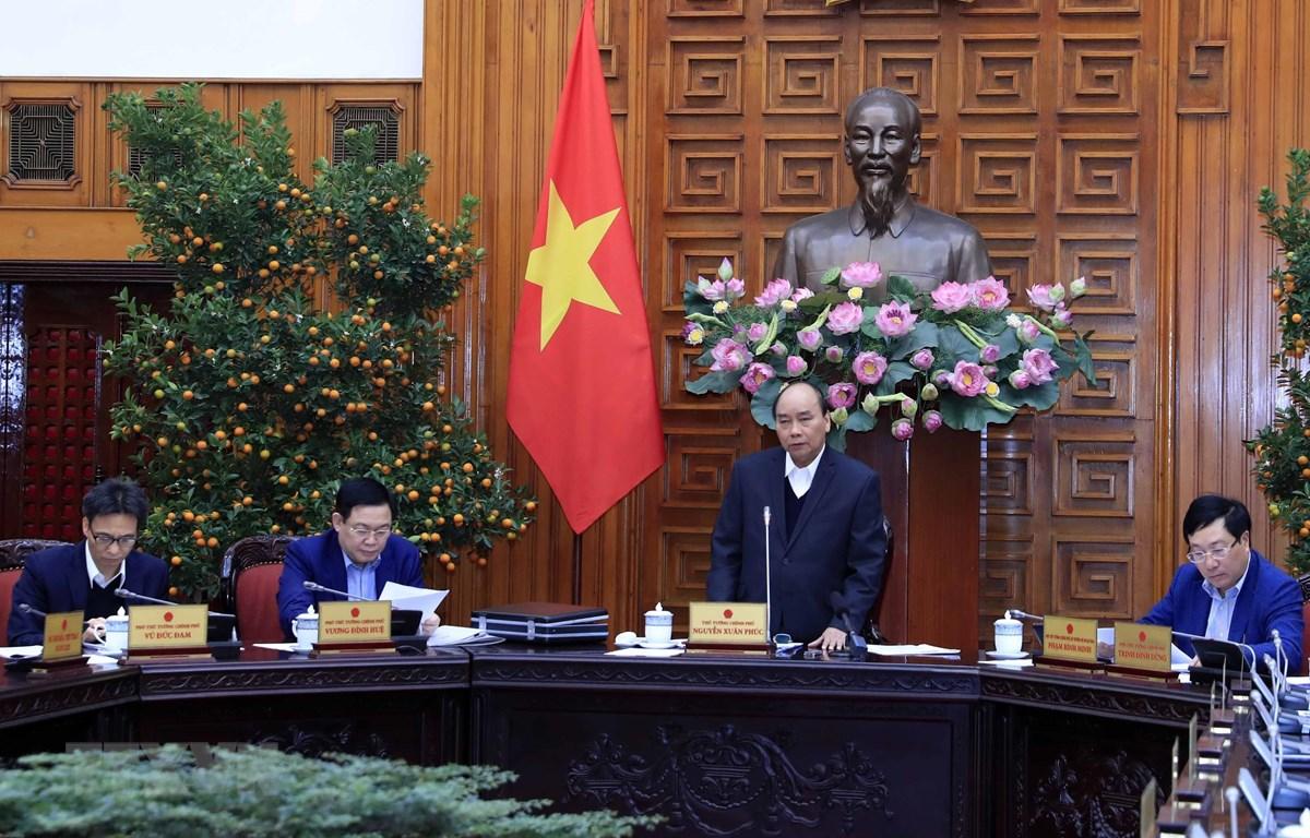 阮春福总理就迎新春准备工作召开政府常务委员会会议