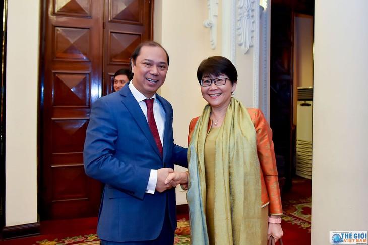 越南-泰国第七次外交部副部长级政治磋商在河内举行