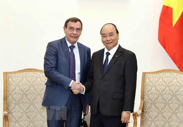 政府总理阮春福会见俄罗斯总统反腐事务局局长安德烈·谢尔盖维奇