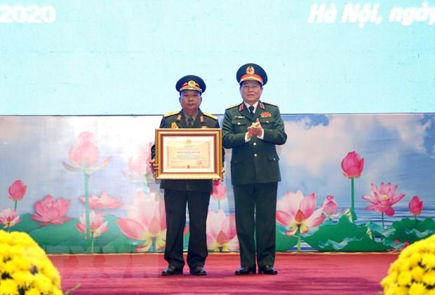 越南和老挝国家勋章授勋仪式在河内隆重举行