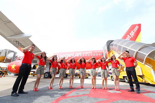 越捷航空公司新增越南至印度3条直达航线