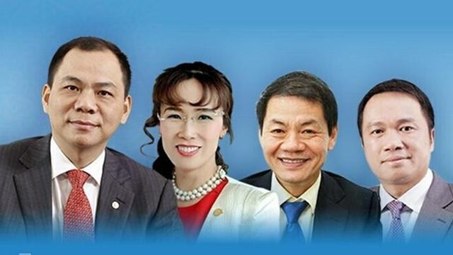 4名越南企业家荣登2020福布斯全球亿万富豪榜