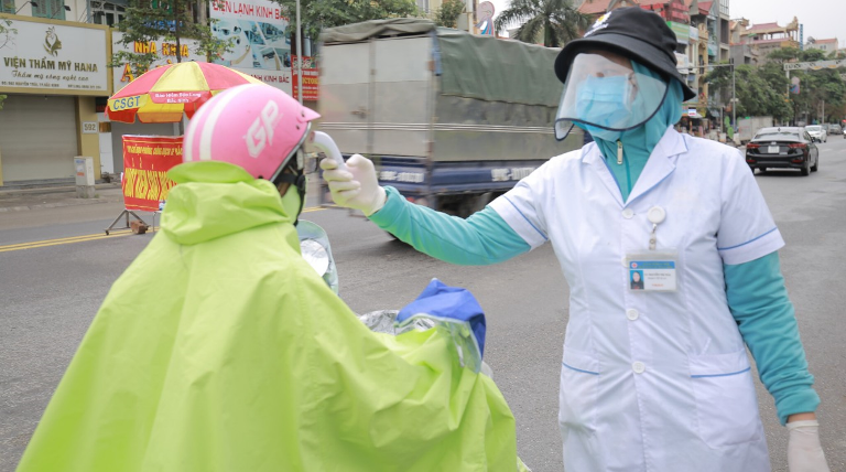 北宁省成立19个防疫站  监察新冠肺炎疫情防控工作