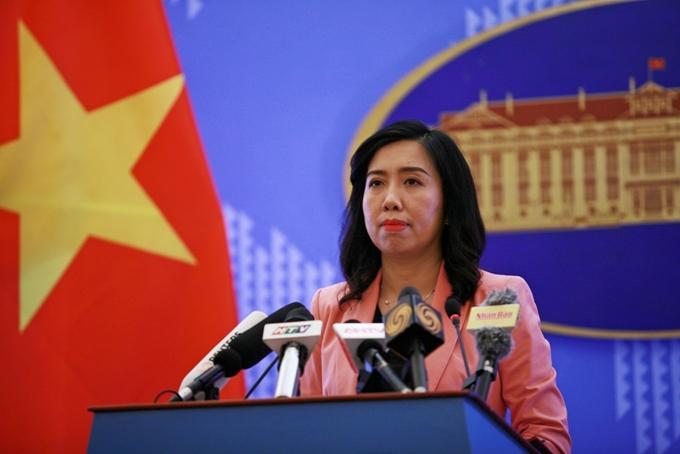 越南要求中国尊重越南的主权
