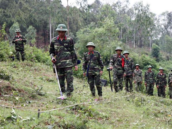 越南克服战后遗留地雷和爆炸物危害