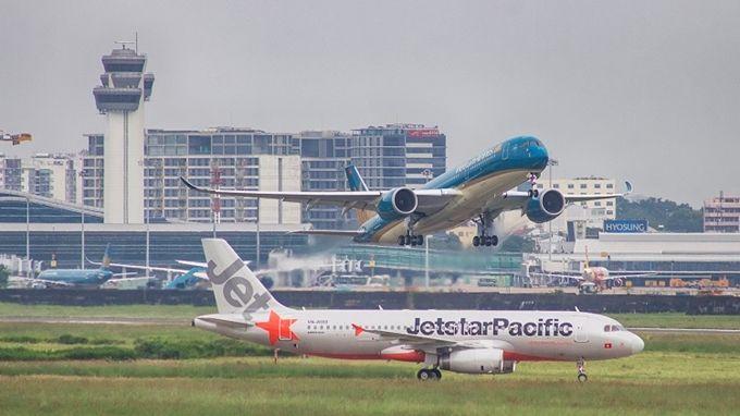 越南航空局允许增加国内航班频率