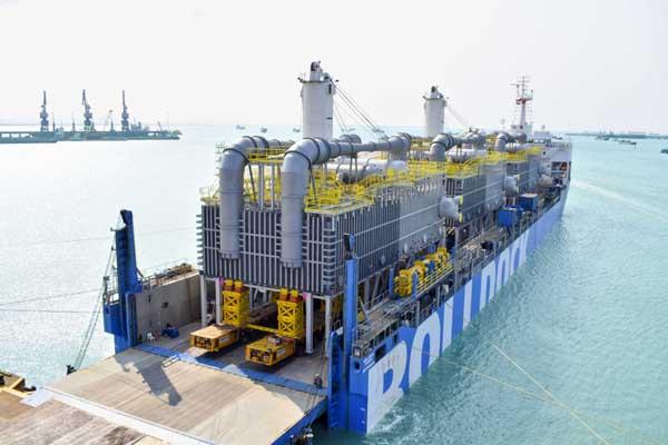 越南Doosan Vina三台重达2040吨的海水过滤设备运抵巴林