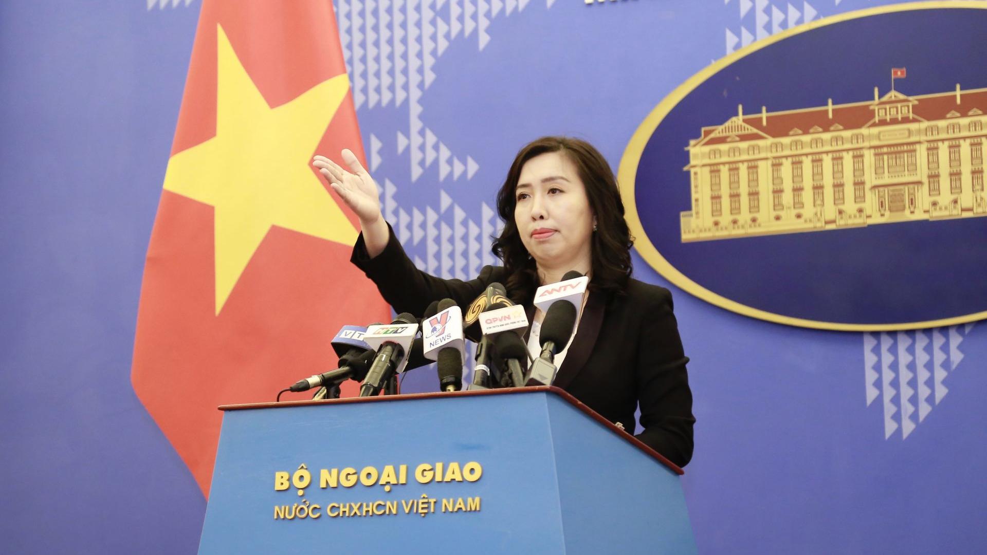 越方要求中方从严处理侵犯越南主权的中国海警船