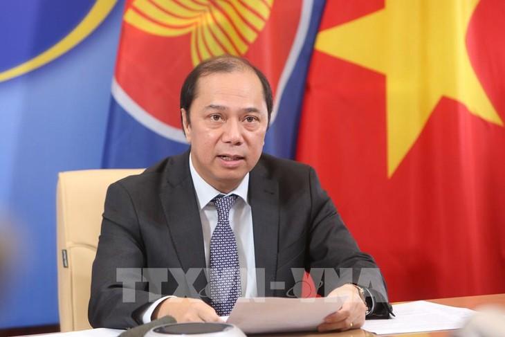 越南希望美国和中国在新冠肺炎疫情全球防控工作中发挥重要作用
