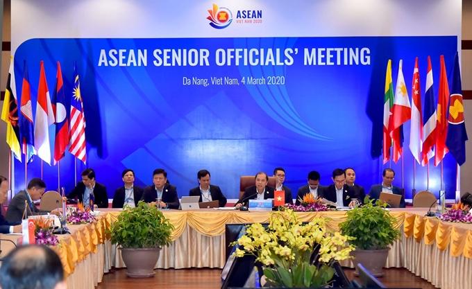 东盟高官特别峰会将以视频会议方式举行