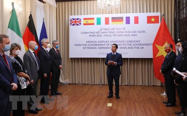 德国媒体对越南协助欧洲各国应对新冠肺炎疫情给予高度评价