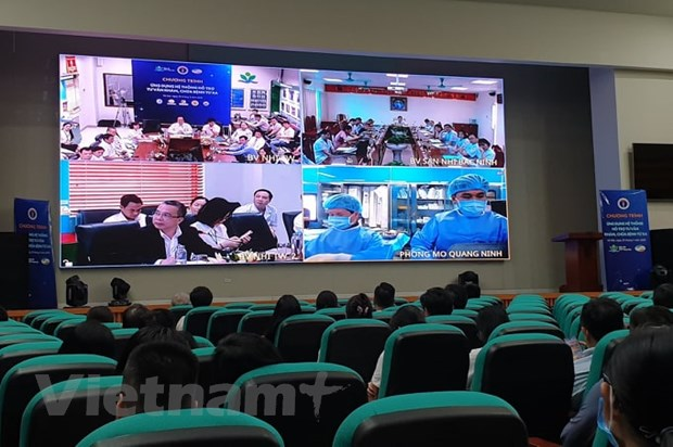越南应用远程诊疗系统进行儿科诊疗
