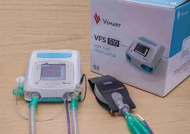 越南Vingroup集团向俄罗斯和乌克兰赠送2400台呼吸机