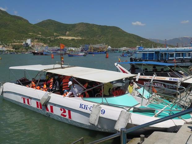 庆和省芽庄旅游码头投入试运营