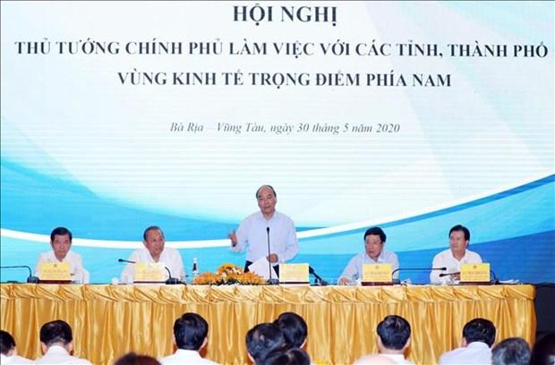 阮春福总理:制定特殊机制推动南部重要经济区发展