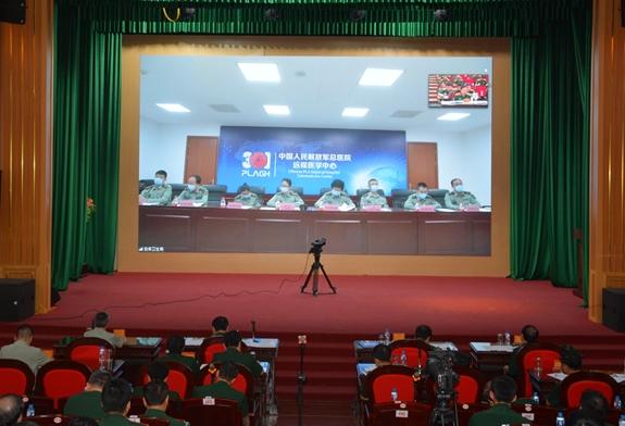 越中两国军医分享新冠肺炎疫情防控经验