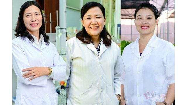 越南三名女科学家跻身亚洲100名杰出科学家名单