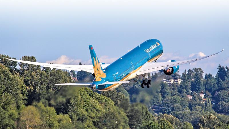 越航正式开通从海防和荣市起飞的七条国内新航线