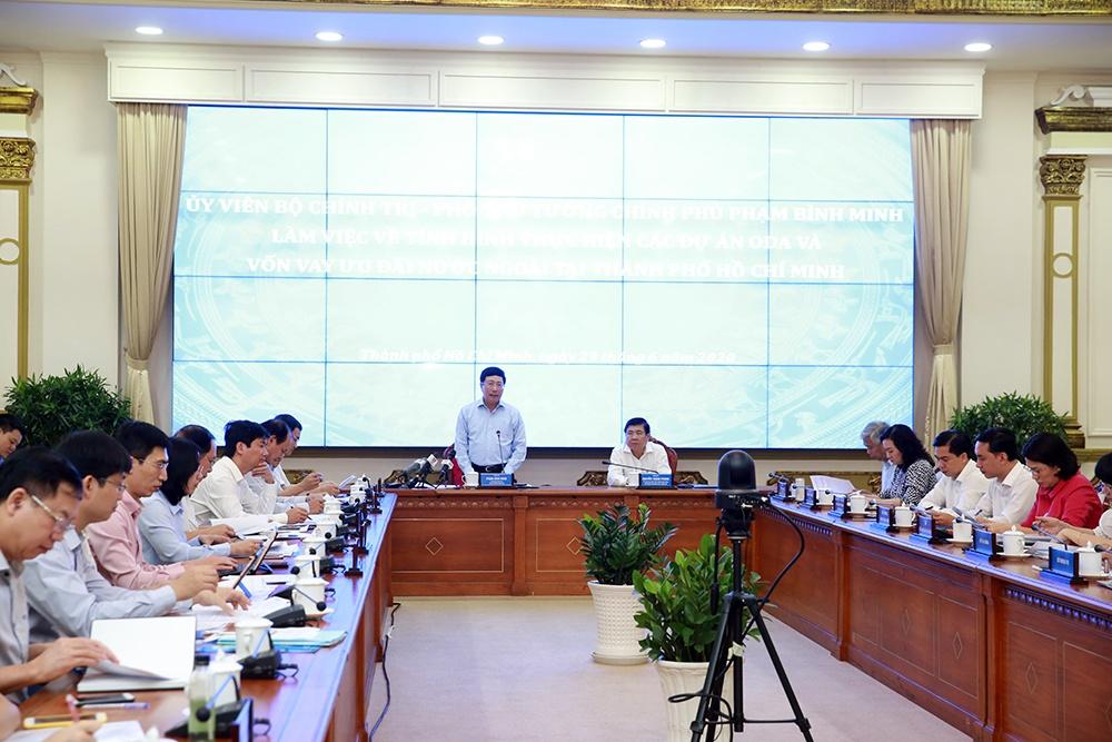 胡志明市努力解决官方发展援助使用过程中所遇的困难