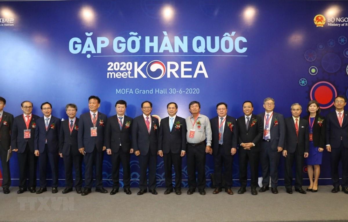 """""""2020年相约韩国""""会议:增强越南与韩国各地间的合作与对接"""