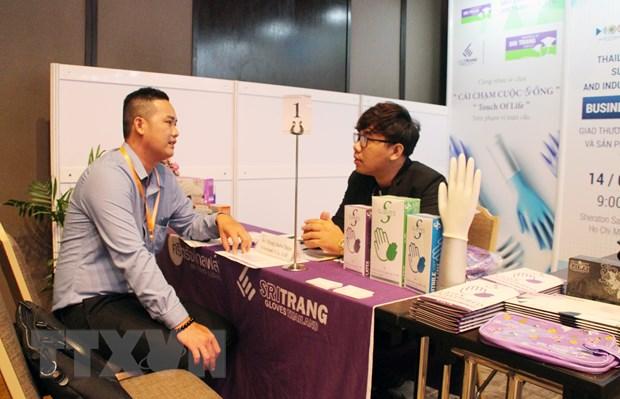 泰国与越南企业进行在线交易活动