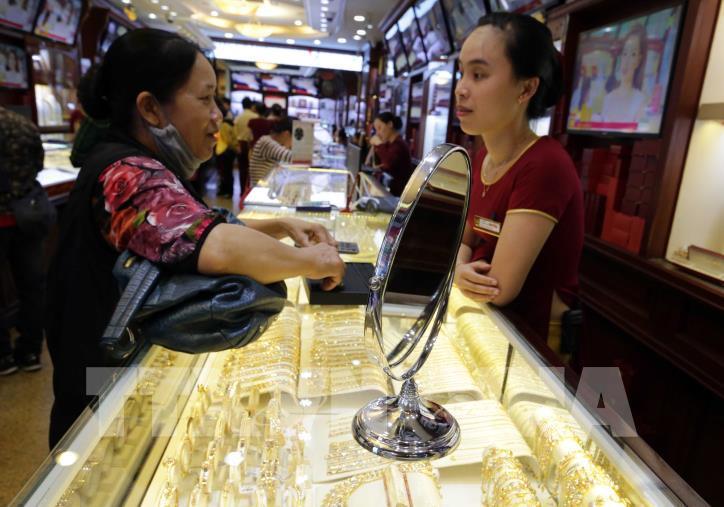7月1日越南国内黄金价格一两上涨28万越盾