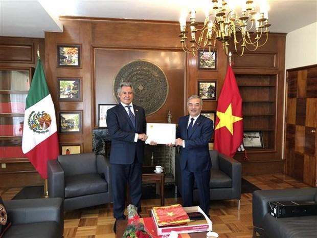 越南任命新驻墨西哥名誉领事