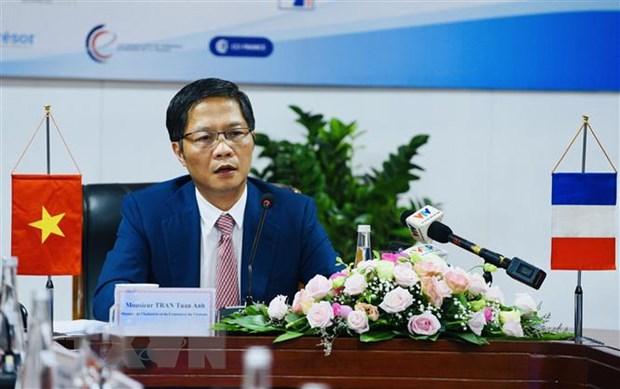 越南和法国企业参与全球供应链的机会