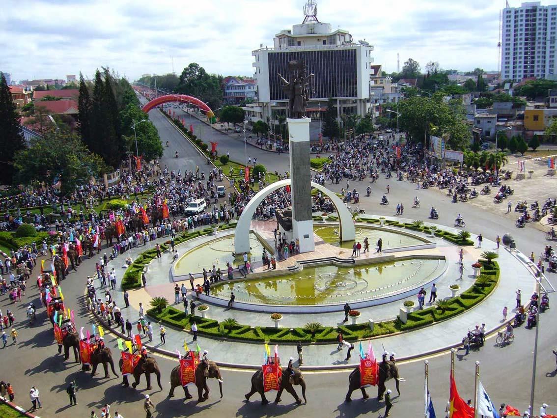将邦美蜀市发展成为西原地区的中心都市区
