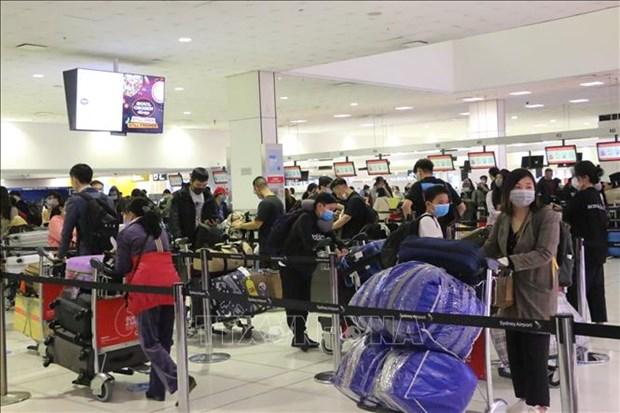越南将身在澳大利亚和新西兰的逾350名公民安全接送回国