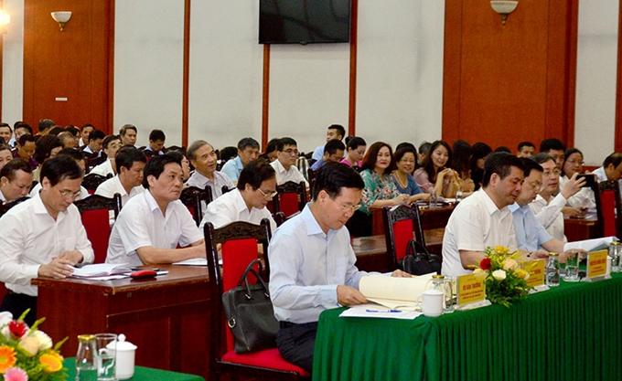 武文赏同志:宣教部应肯定其在党的思想阵线上的主力作用