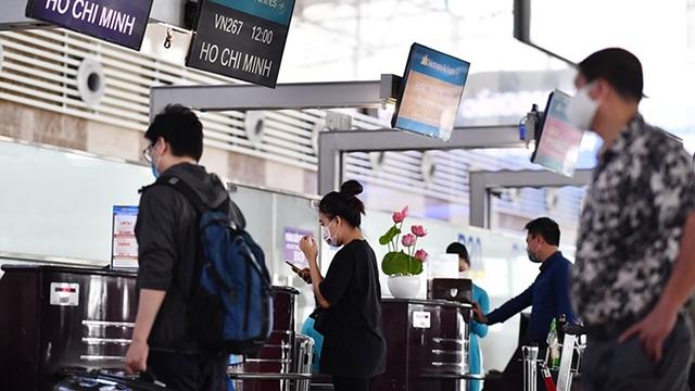 越南航空公司建议旅客提前两个小时到达内排和新山一国际机场