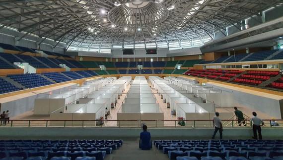 岘港市仙山抗疫野战医院将于本月14日投入运行