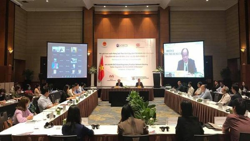 东盟—经济合作与发展组织加强行政改革合作以防控新冠肺炎疫情