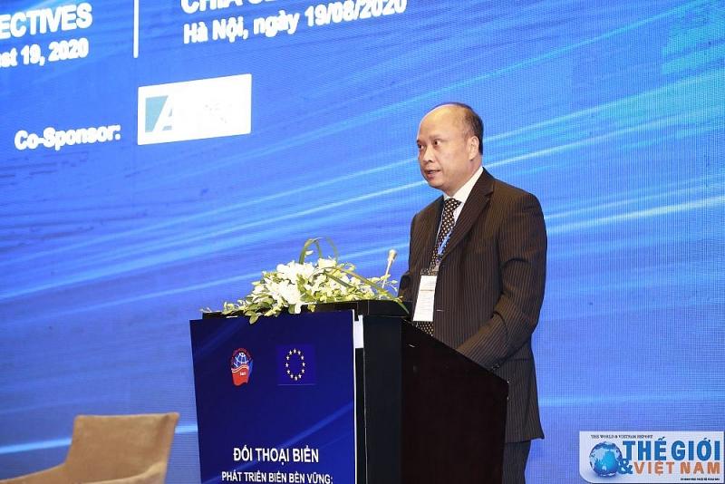 """""""可持续发展海洋:越南与欧盟的观点""""海洋对话研讨会在河内举行"""