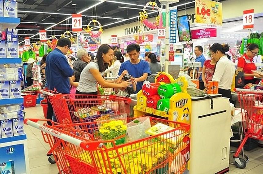 今年前三季度越南全国CPI同比增长3.85%
