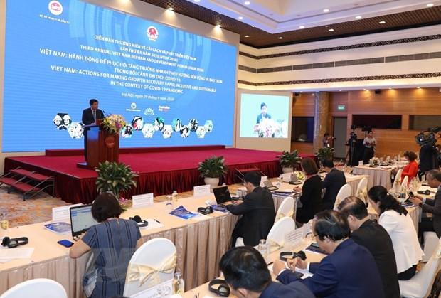 2020年第三届越南革新与发展论坛正式开幕