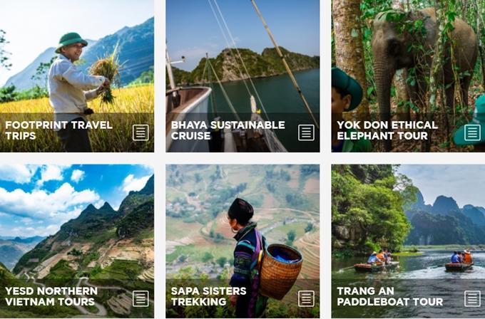 越南响应2020年世界旅游日