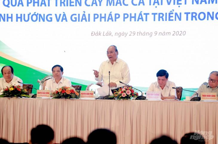 阮春福总理出席澳洲坚果发展措施会议