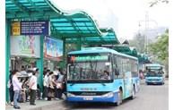河内市研究试运行电动巴士