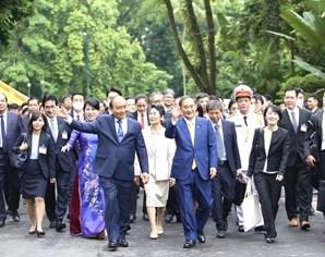 英国路透社:菅义伟访越有助于加强日本与越南乃至东盟的经济合作