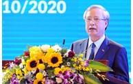 陈国旺同志出席越南妇联成立90周年纪念大会