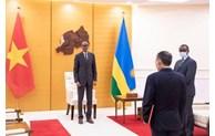 卢旺达希望进一步推进与越南的友好合作关系